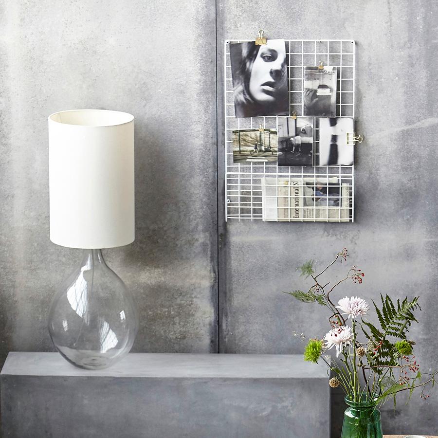 house doctor pinnwand mesh schwarz online kaufen emil. Black Bedroom Furniture Sets. Home Design Ideas