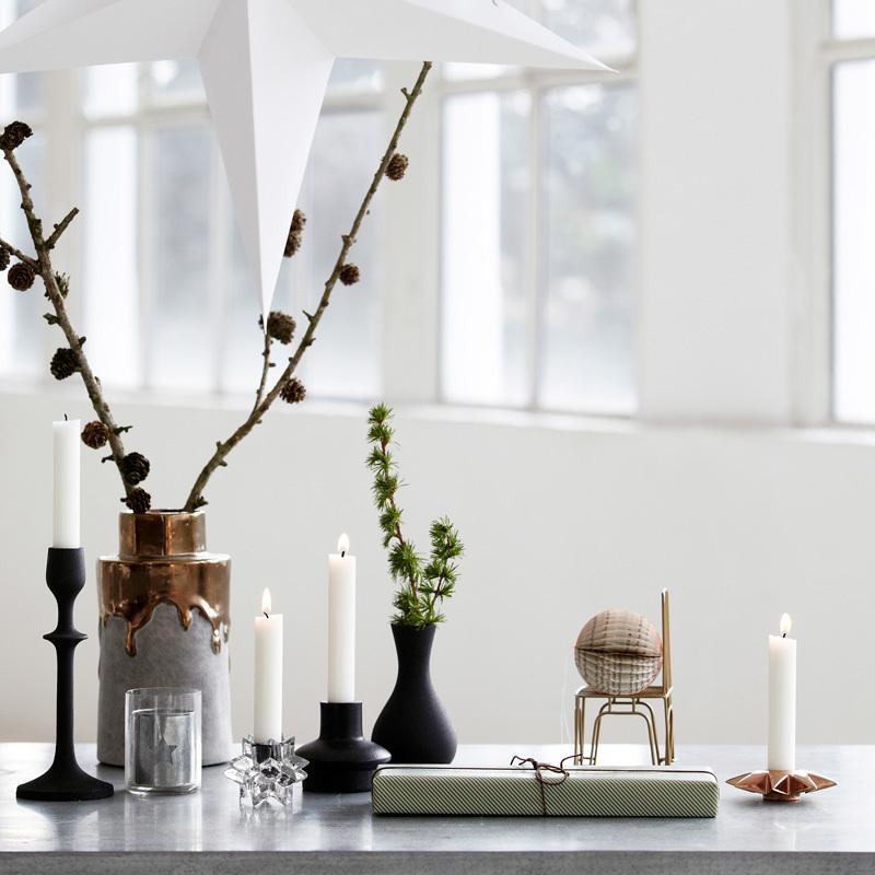 house doctor kerzenst nder star messing online kaufen emil paula. Black Bedroom Furniture Sets. Home Design Ideas