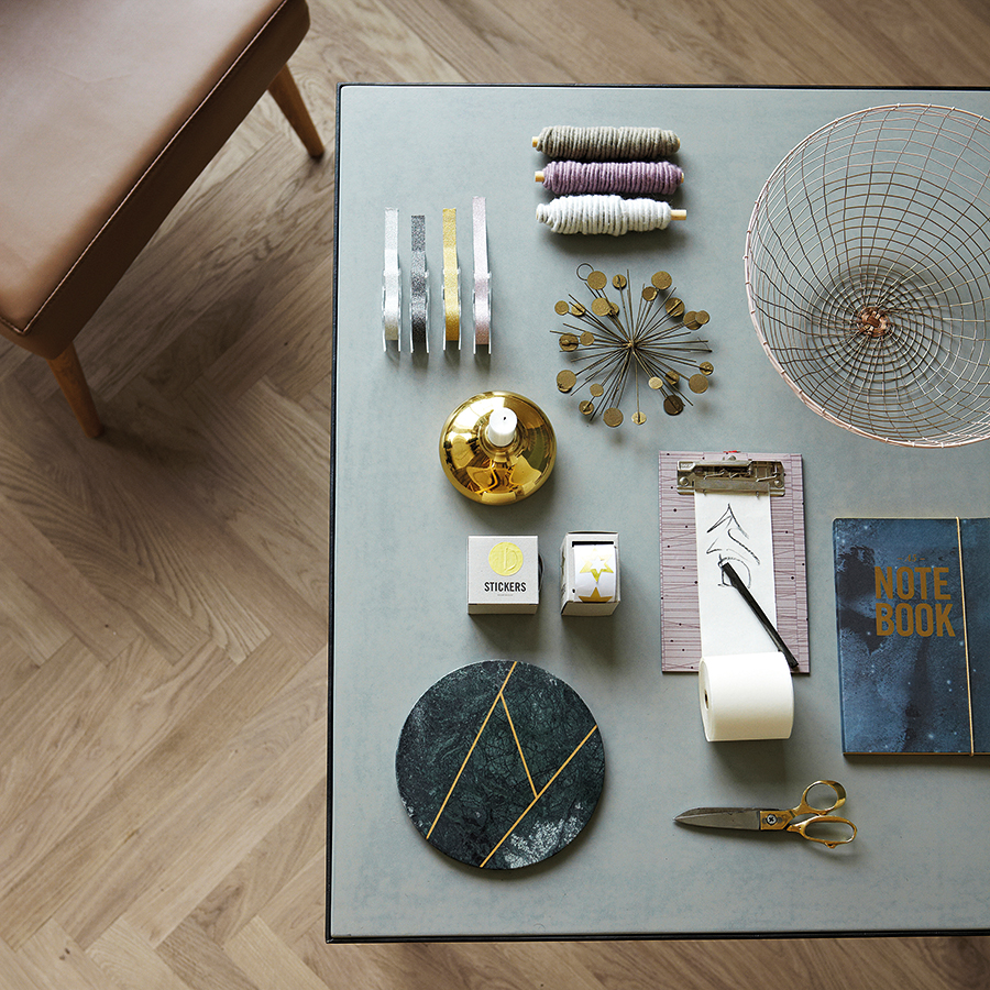 house doctor ornament dots wei online kaufen emil paula. Black Bedroom Furniture Sets. Home Design Ideas