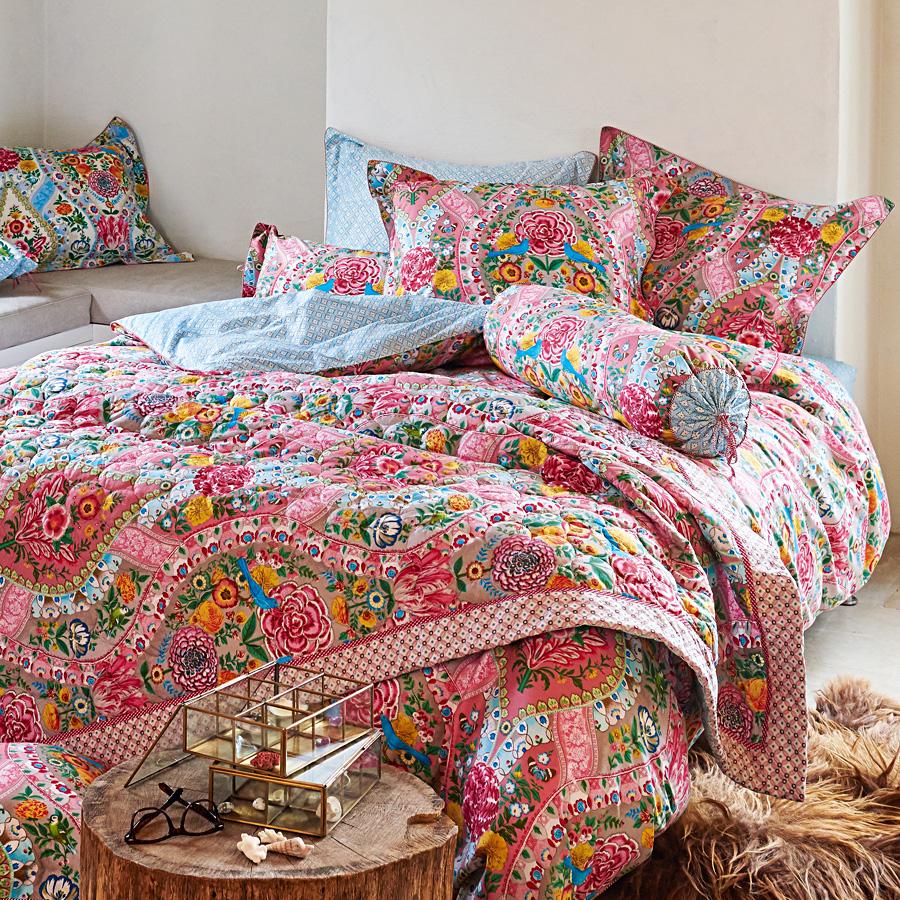 pip studio bettw sche melody khaki online kaufen emil. Black Bedroom Furniture Sets. Home Design Ideas