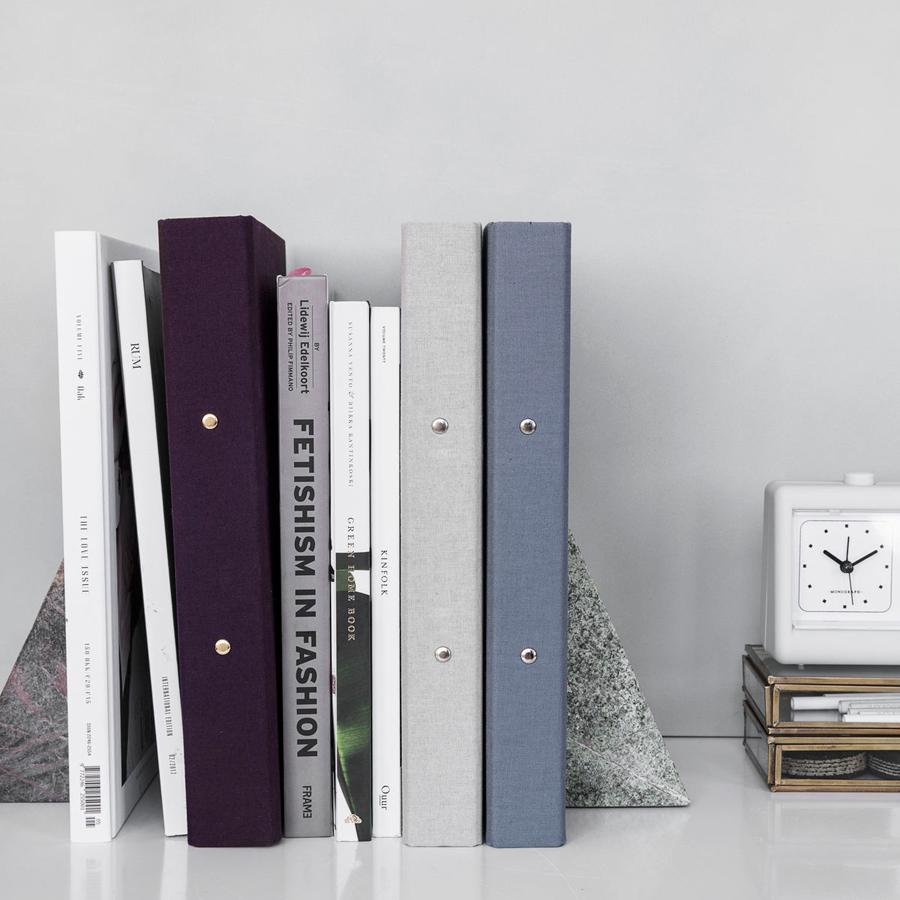 monograph by house doctor ordner dark grey online kaufen. Black Bedroom Furniture Sets. Home Design Ideas