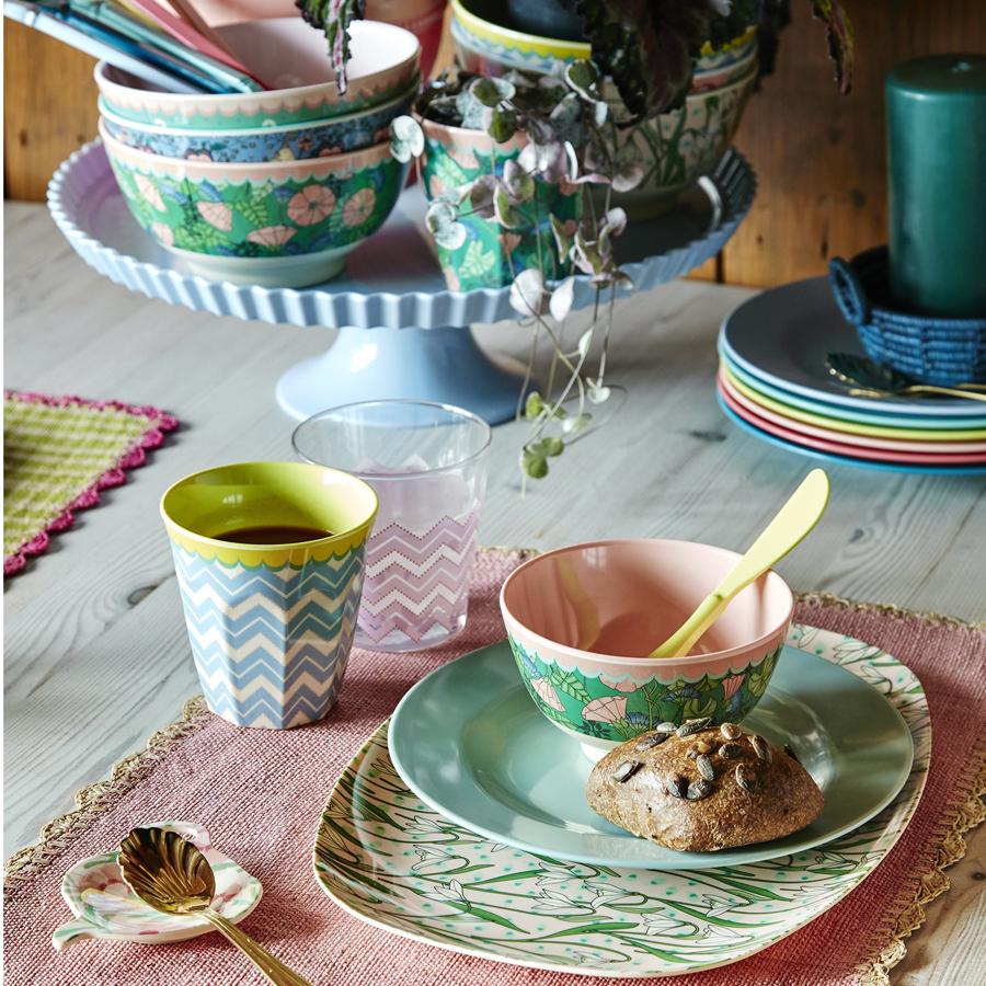 rice melamin teller oval snowdrop online kaufen emil paula. Black Bedroom Furniture Sets. Home Design Ideas