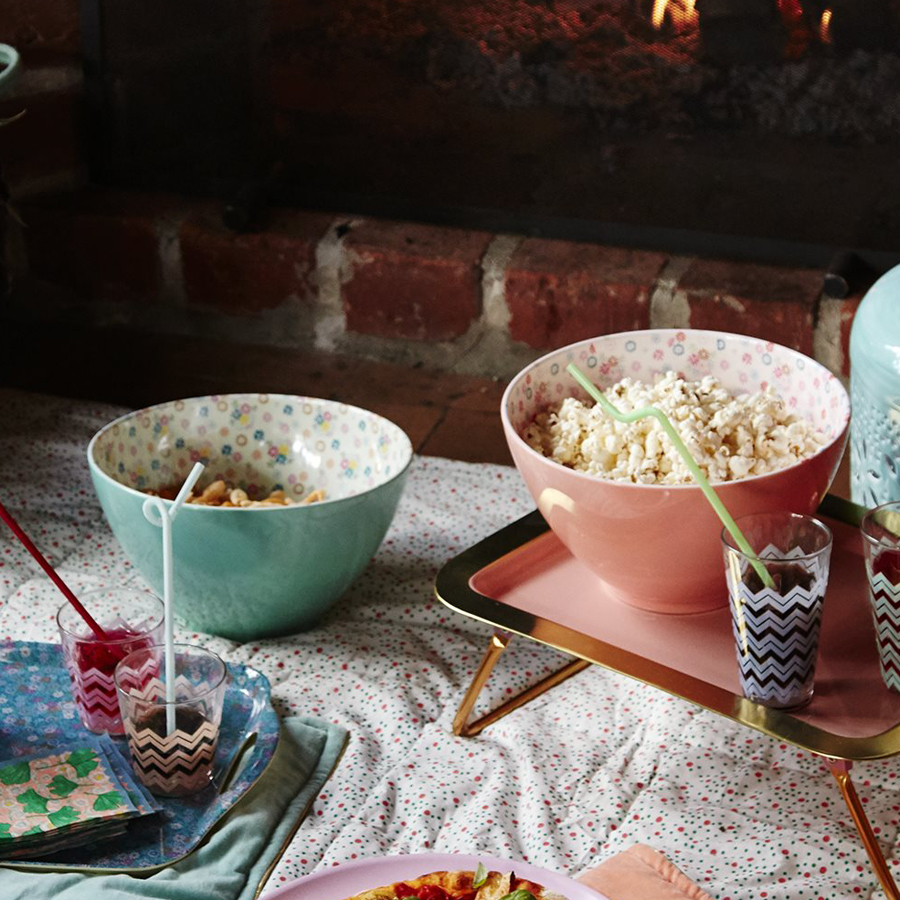 rice melamin salatsch ssel two tone rosa online kaufen. Black Bedroom Furniture Sets. Home Design Ideas