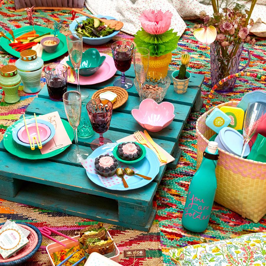 rice melamin servierteller dark green online kaufen emil. Black Bedroom Furniture Sets. Home Design Ideas