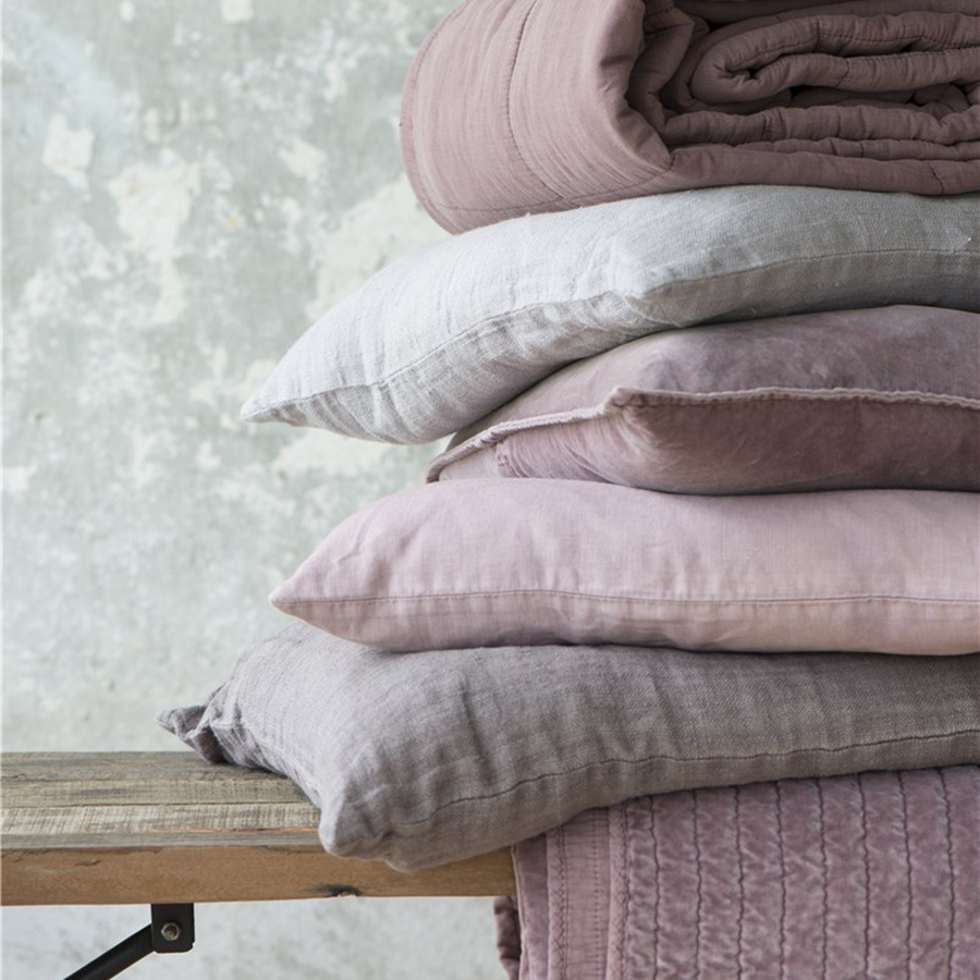 ib laursen kissenbezug rosa 50x50 online kaufen emil paula. Black Bedroom Furniture Sets. Home Design Ideas