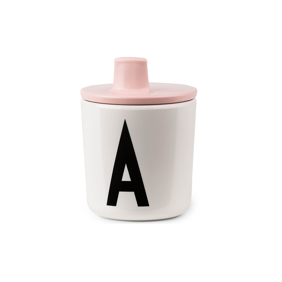 design letters trinkaufsatz f r melamin becher pink online. Black Bedroom Furniture Sets. Home Design Ideas