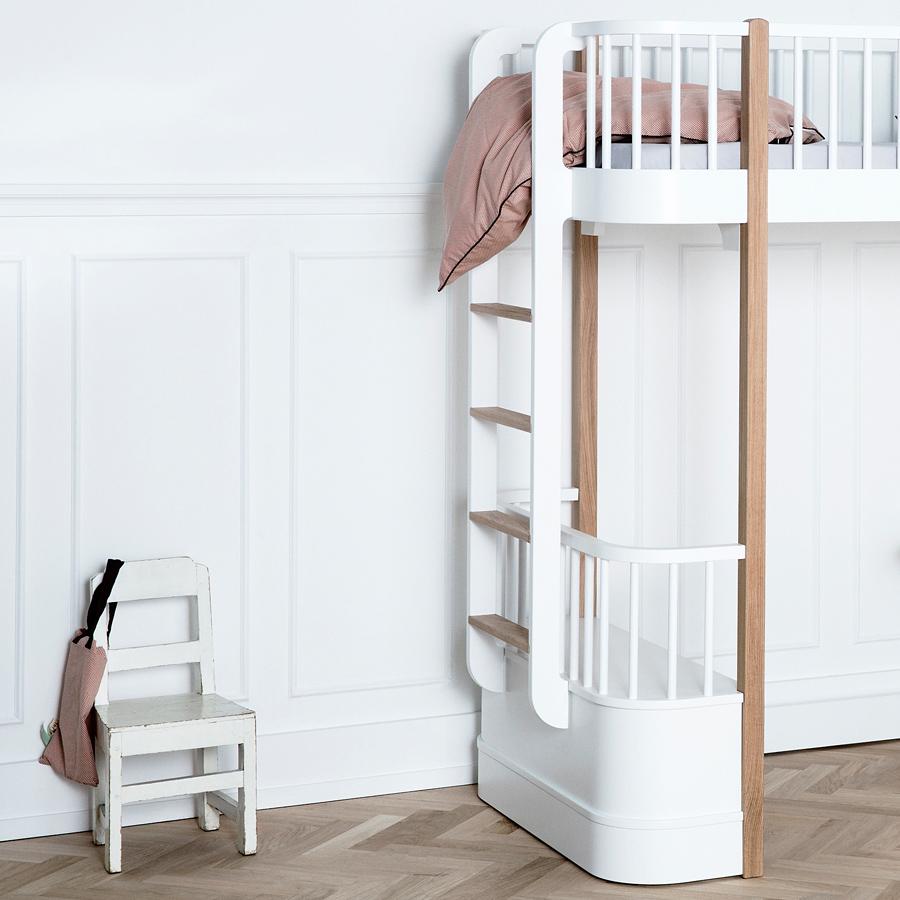 oliver furniture hochbett wood eiche online kaufen emil paula. Black Bedroom Furniture Sets. Home Design Ideas