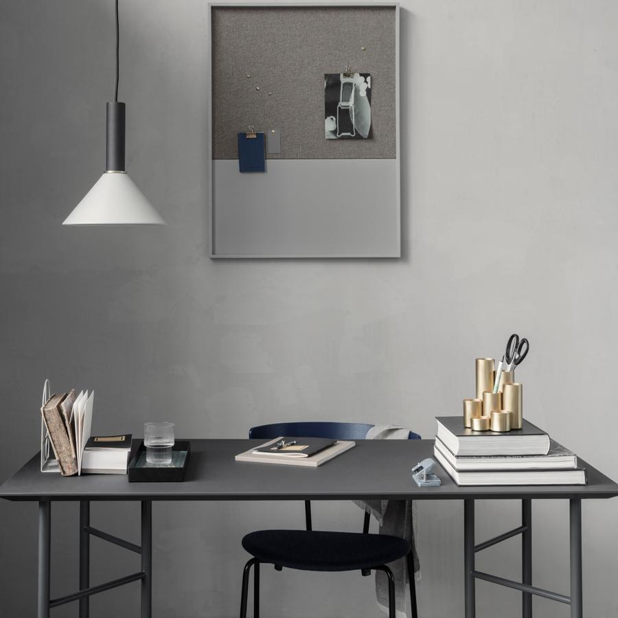 ferm living tischplatte mingle charcoal in verschiedenen. Black Bedroom Furniture Sets. Home Design Ideas