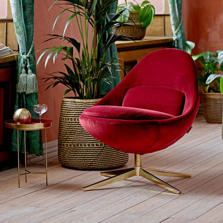 bloomingville beistelltisch mit tablett red online kaufen emil paula. Black Bedroom Furniture Sets. Home Design Ideas