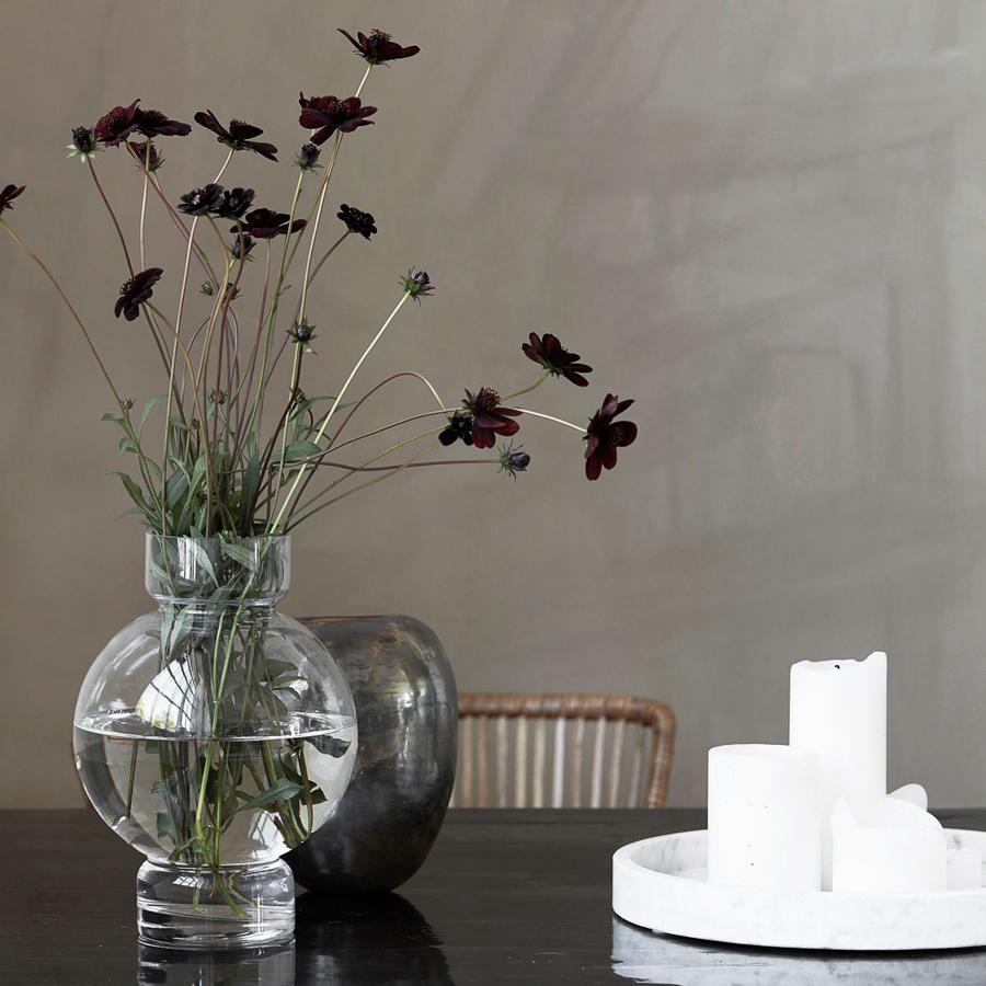 house doctor vase bubble klar online kaufen emil paula. Black Bedroom Furniture Sets. Home Design Ideas