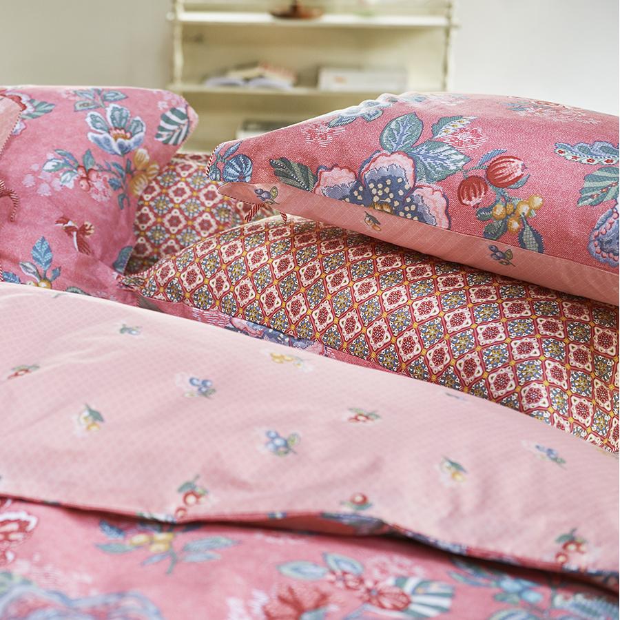 pip studio bettw sche berry bird pink online kaufen emil paula. Black Bedroom Furniture Sets. Home Design Ideas