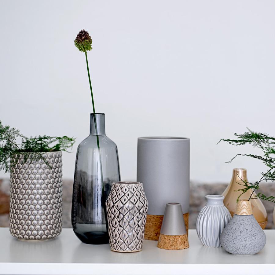 bloomingville keramik vase dark rose online kaufen emil paula. Black Bedroom Furniture Sets. Home Design Ideas