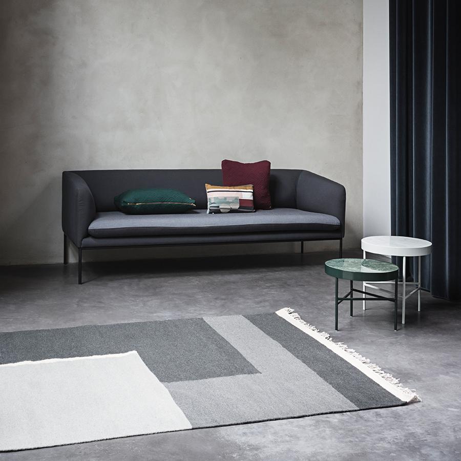 ferm living coussin colour block s1 acheter en ligne. Black Bedroom Furniture Sets. Home Design Ideas