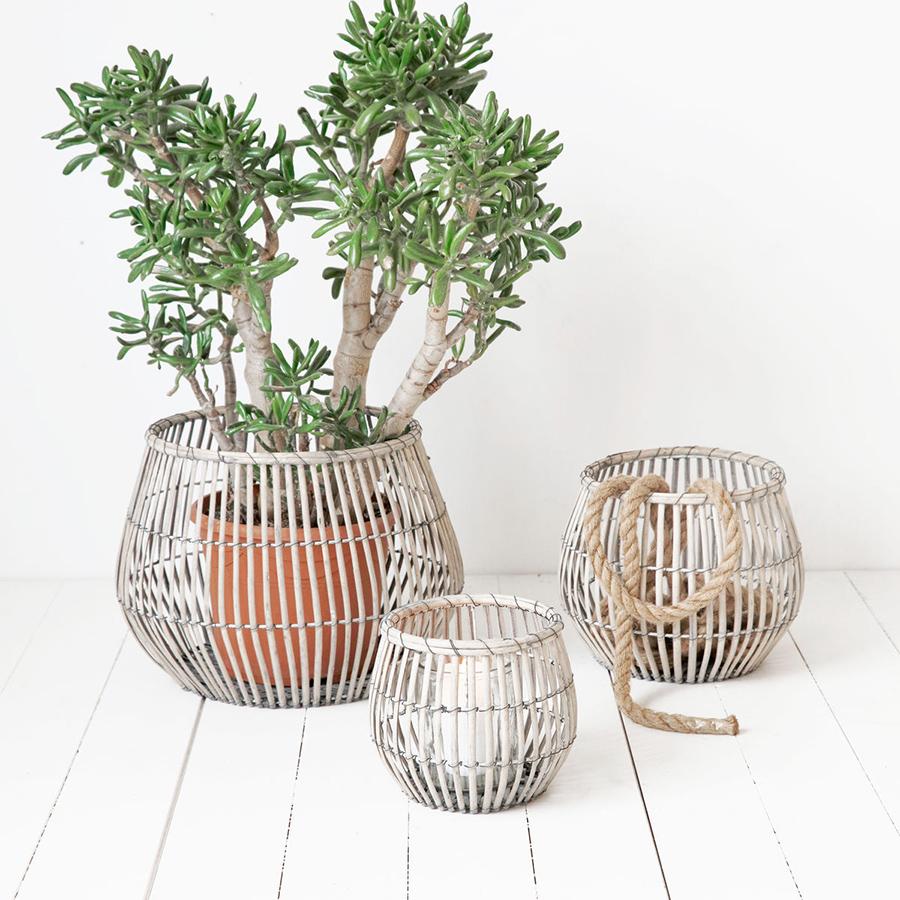 house doctor korb nest round 3er set online kaufen emil paula. Black Bedroom Furniture Sets. Home Design Ideas