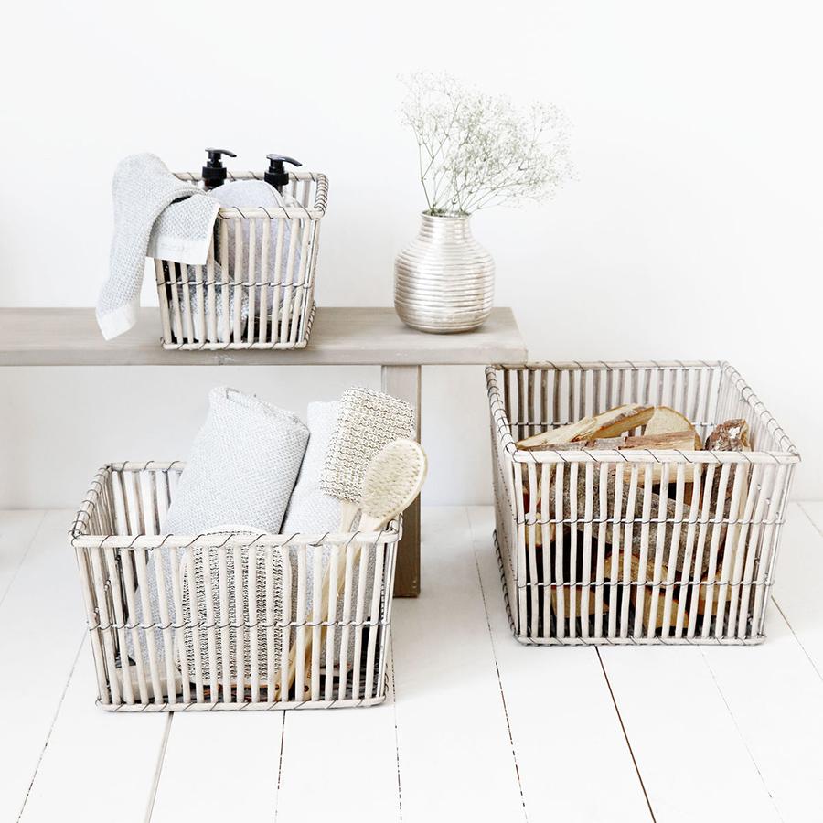 house doctor korb nest rectangular 3er set online kaufen. Black Bedroom Furniture Sets. Home Design Ideas