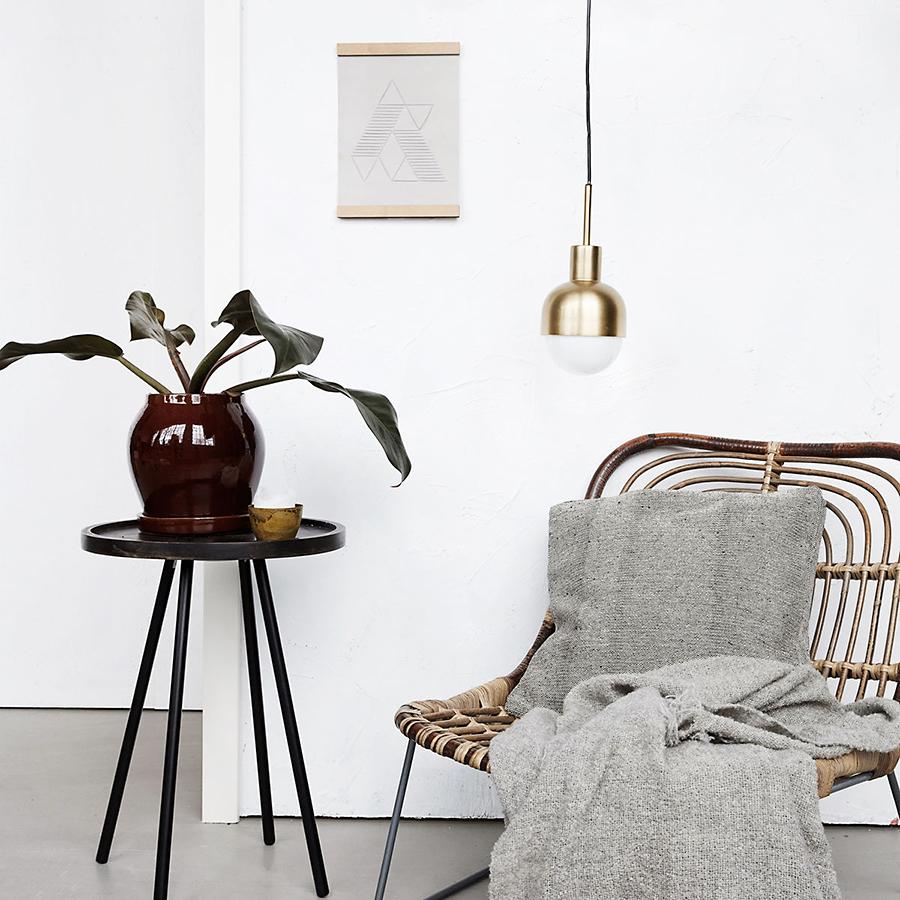 house doctor kissenbezug box nist 45x45cm online kaufen. Black Bedroom Furniture Sets. Home Design Ideas