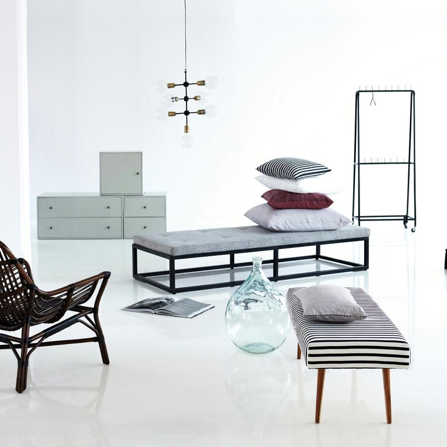 house doctor kissenbezug patch gr n online kaufen emil paula. Black Bedroom Furniture Sets. Home Design Ideas