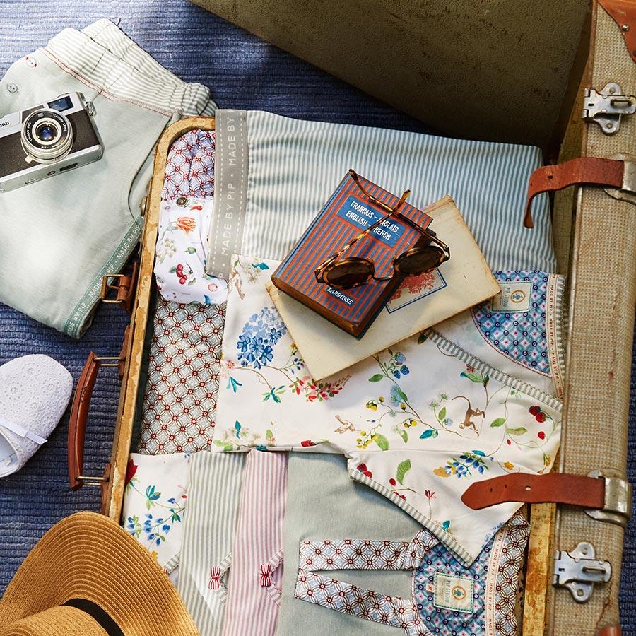 pip studio hose bob hummingbirds off white online kaufen emil paula. Black Bedroom Furniture Sets. Home Design Ideas