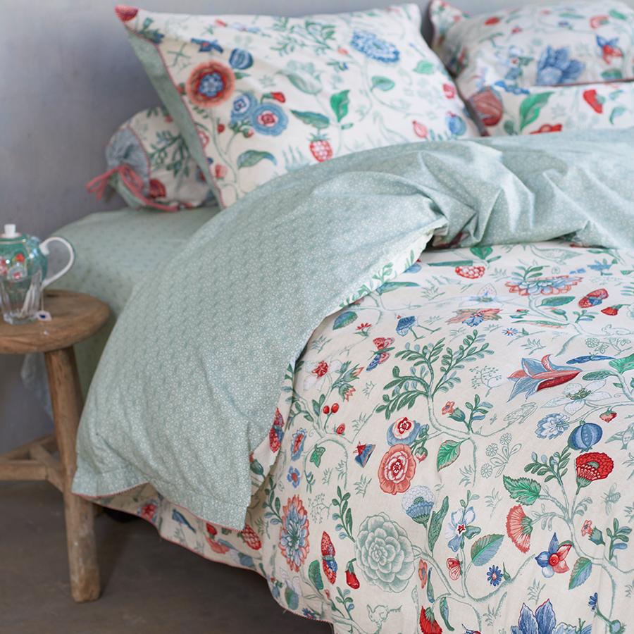 pip studio bettw sche spring to life petit star white online kaufen emil paula. Black Bedroom Furniture Sets. Home Design Ideas