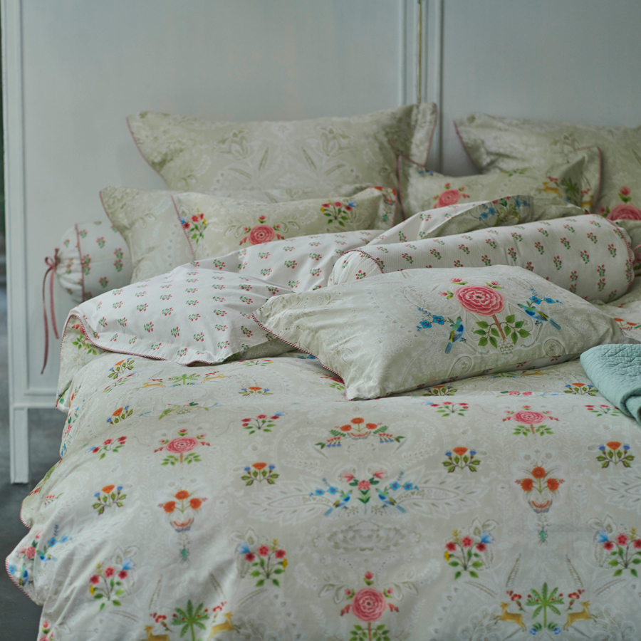pip studio bettw sche yes madam khaki online kaufen emil paula. Black Bedroom Furniture Sets. Home Design Ideas