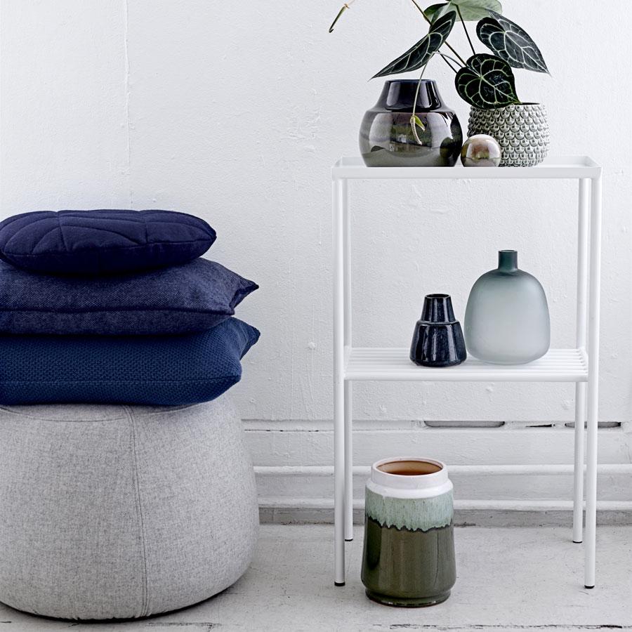 bloomingville beistelltisch matte black online kaufen emil paula. Black Bedroom Furniture Sets. Home Design Ideas