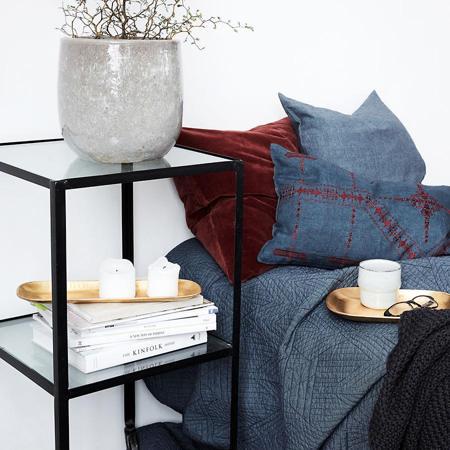 house doctor tablett rich messing online kaufen emil paula. Black Bedroom Furniture Sets. Home Design Ideas