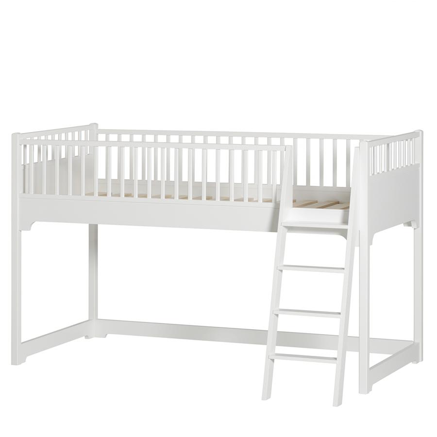 oliver furniture halbhohes hochbett seaside online kaufen emil paula. Black Bedroom Furniture Sets. Home Design Ideas