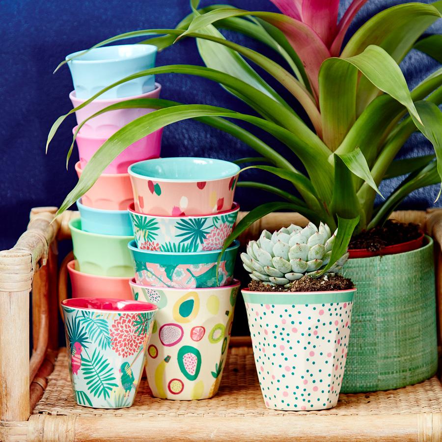 rice melamin becher curved blue green 6er set online. Black Bedroom Furniture Sets. Home Design Ideas