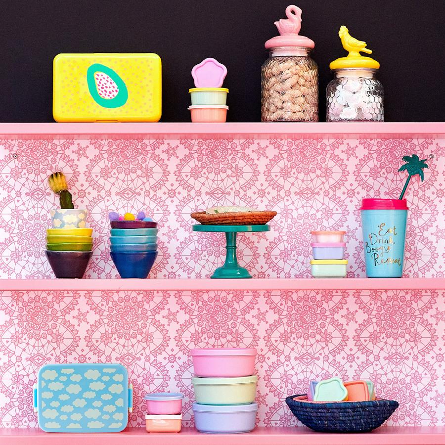 rice aufbewahrungsdosen boogie colors 12er set online kaufen emil paula. Black Bedroom Furniture Sets. Home Design Ideas