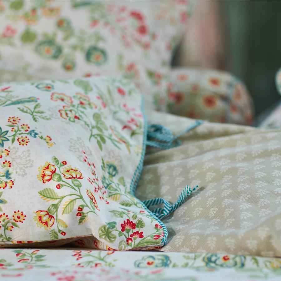 pip studio bettw sche jaipur flower khaki 135 x 200 cm kissenbezug 80 x 80 cm online kaufen. Black Bedroom Furniture Sets. Home Design Ideas